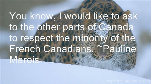 Quotes About Canada In French