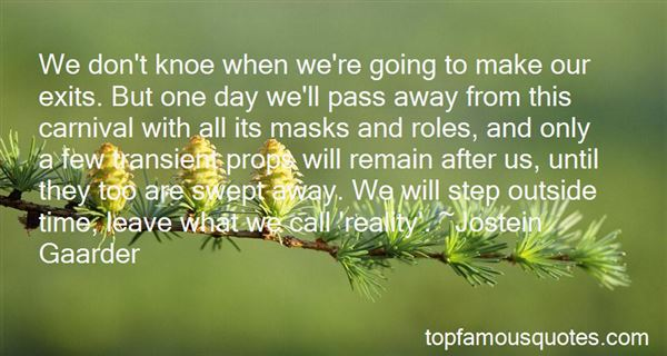 Quotes About Carnival Masks