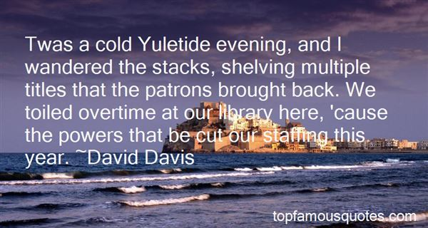 Quotes About Cold Evening