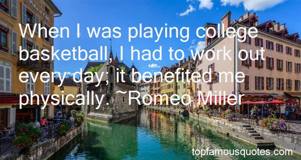 Quotes About College Basketball
