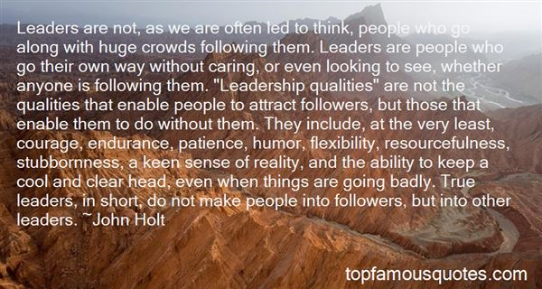 Quotes About Crowd Followers