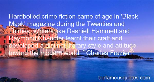 Quotes About Dashiell Hammett