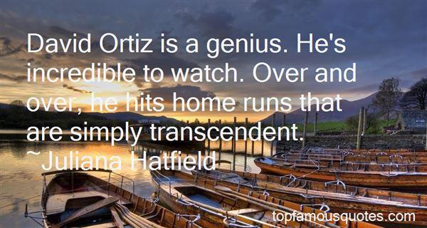 Quotes About David Ortiz