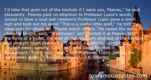 Quotes About Dean Thomas