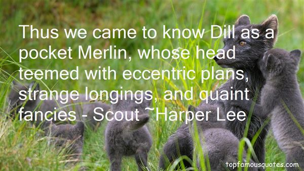 Quotes About Dill And Scout