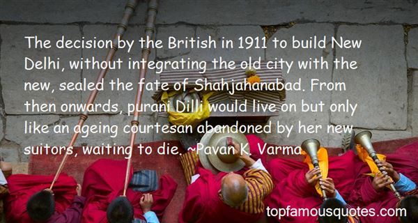Quotes About Dilli