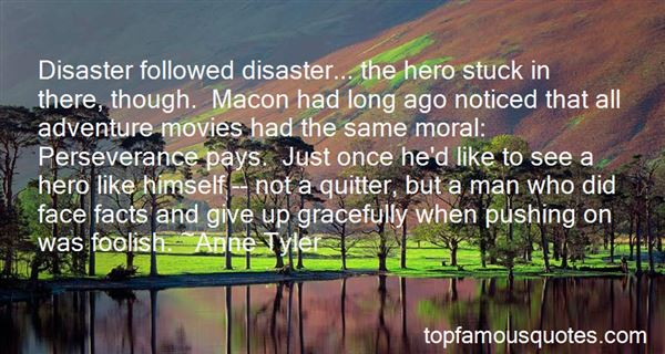 Quotes About Disaster Movies