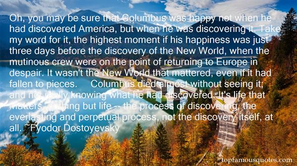 Quotes About Discovery Life