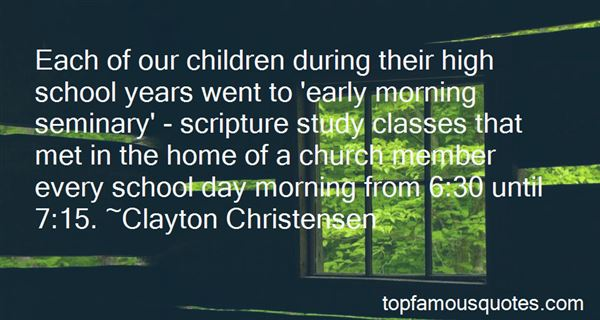 Quotes About Early Morning Classes