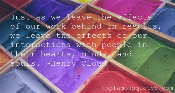 Quotes About Effects Of Our Actions