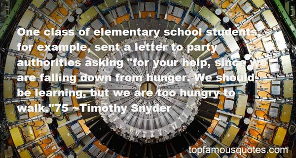 Quotes About Elementary School Students