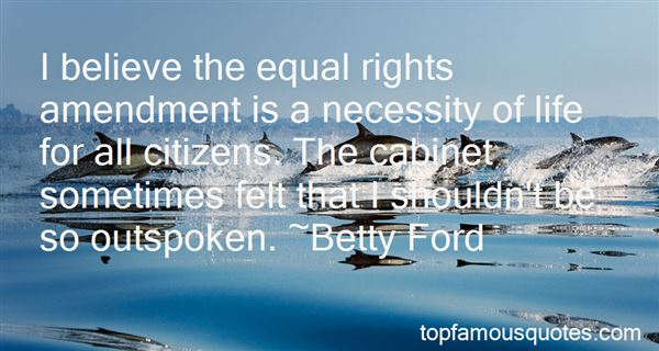 Quotes About Equal Rights Amendment