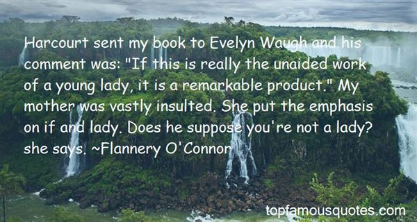 Quotes About Evelyn Waugh