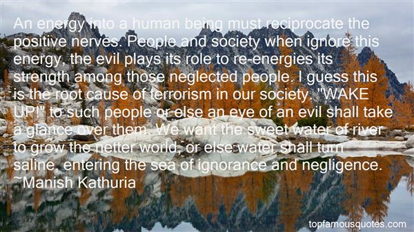 Quotes About Evil In Our World
