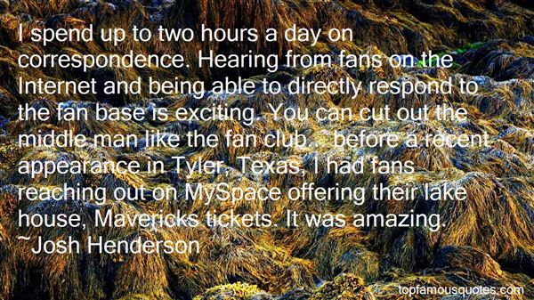Quotes About Fans Club