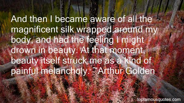 Quotes About Feeling Melancholy