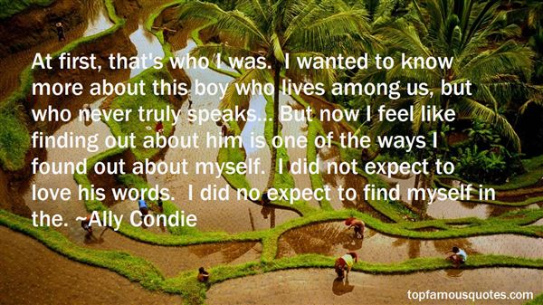 Quotes About Finding Out Love