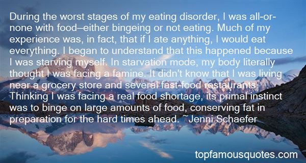 Quotes About Food And Starvation