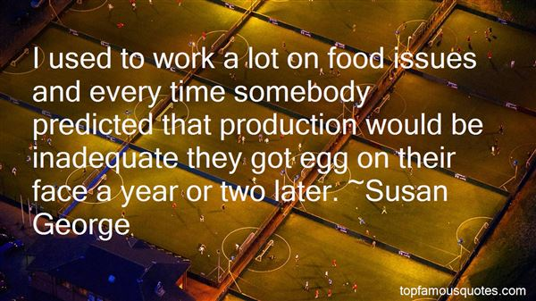 Quotes About Food Production