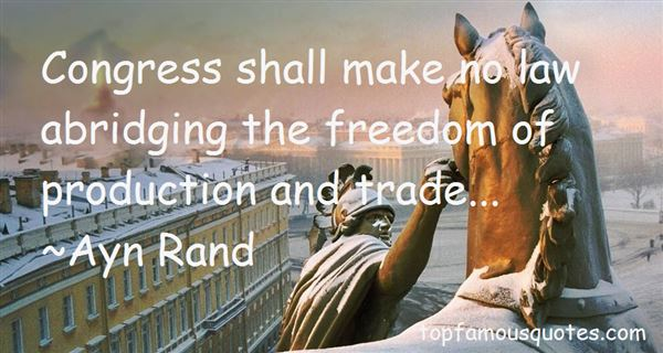 Quotes About Free Trade