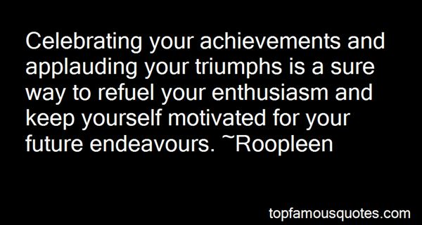 Quotes About Future Endeavours