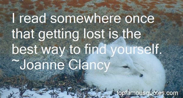 Quotes About Getting Lost To Find Yourself