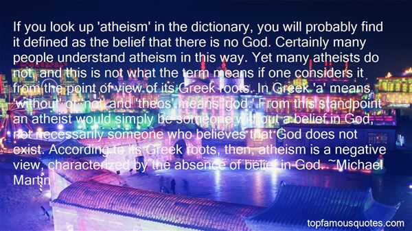 Quotes About God And Atheism