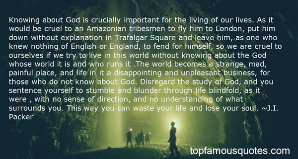 Quotes About God Knowing Us