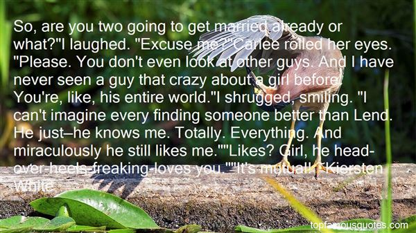 Quotes About Going Crazy In Love