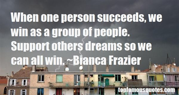 Quotes About Group Support
