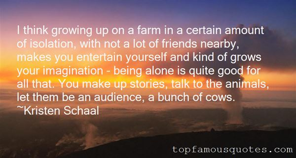 Quotes About Growing Up On A Farm