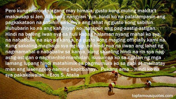 Quotes About Gusto Kita