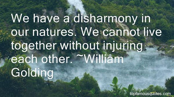 Quotes About Harmony In Nature