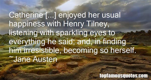 Quotes About Henry Tilney
