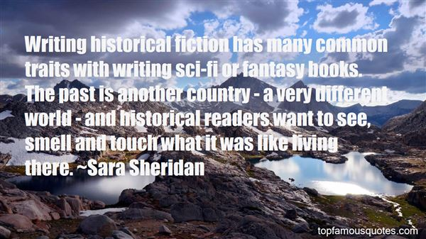 Quotes About Historical Fiction Books