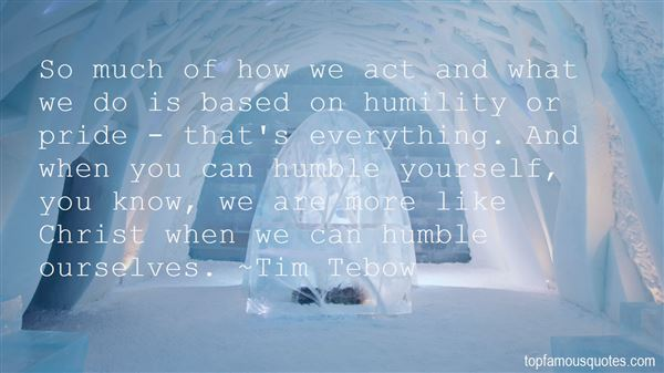 Quotes About Humble Yourself