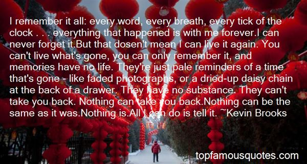 Quotes About I Can Forget You