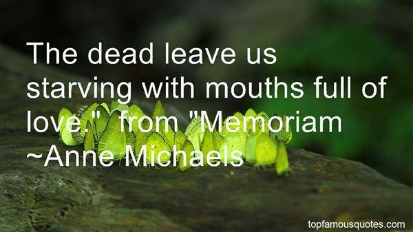 Quotes About In Memoriam
