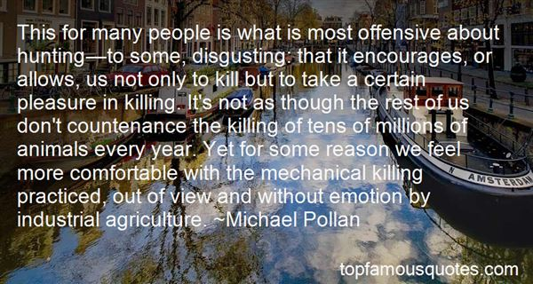 Quotes About Industrial Agriculture
