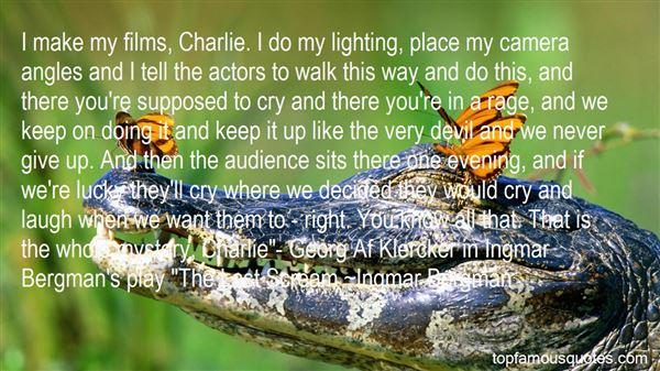 Quotes About Ingmar Bergman