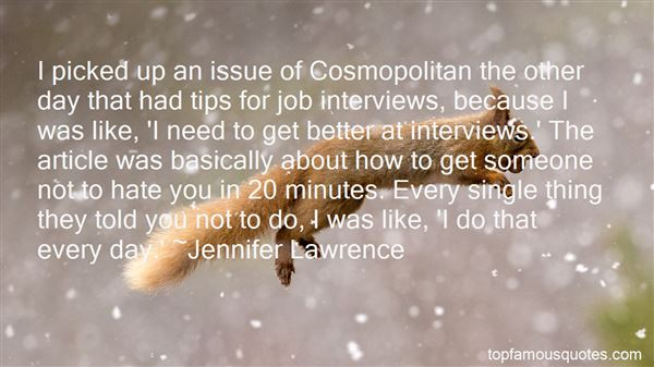 Quotes About Job Interviews