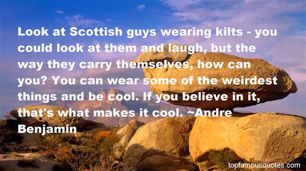 Quotes About Kilts