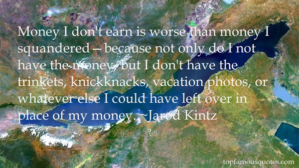 Quotes About Knick Knacks