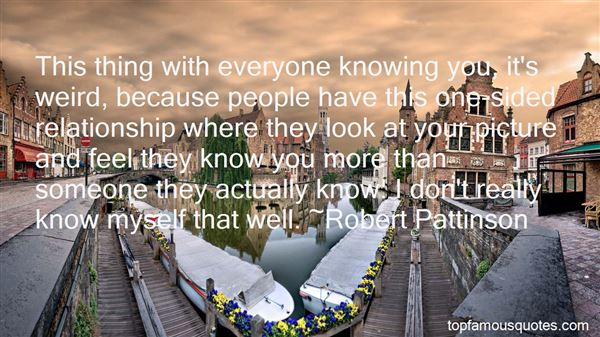 Quotes About Knowing Someone Well