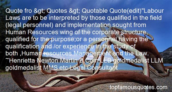 Quotes About Labour Law