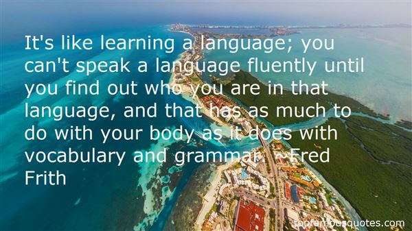 Quotes About Learning Vocabulary