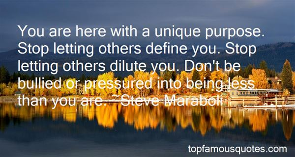 Quotes About Letting Others Define You