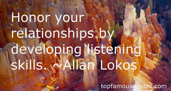 Quotes About Listening Skills