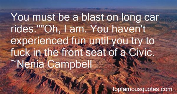 Quotes About Long Car Rides