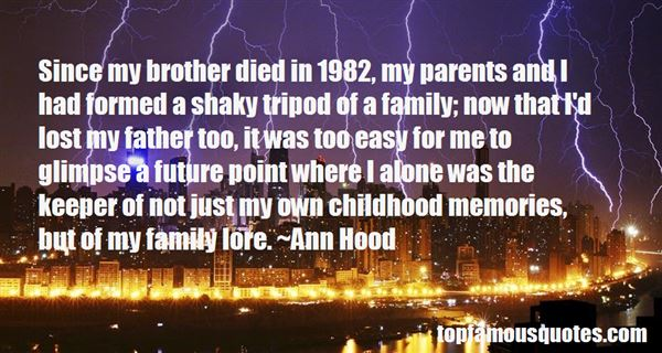 Quotes About Lost Childhood Memories